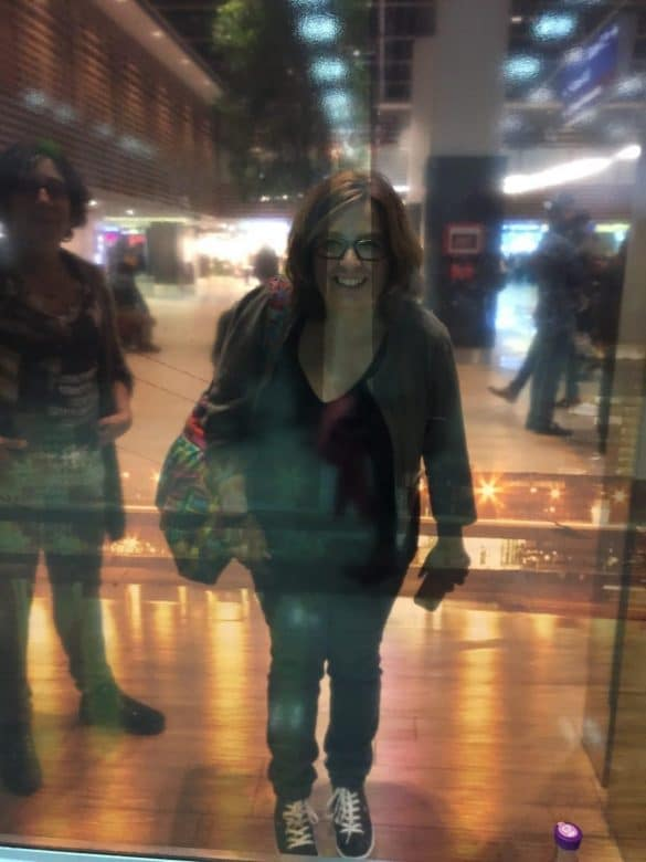 Mothers behind the glass