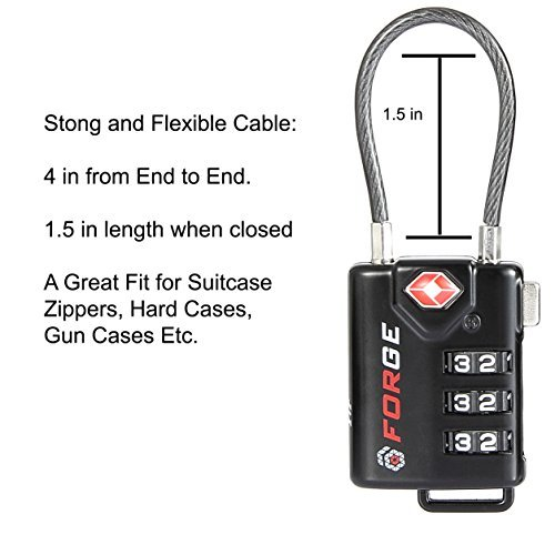 TSA Approved Luggage Locks