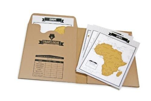 Travel Journal Scratch Maps