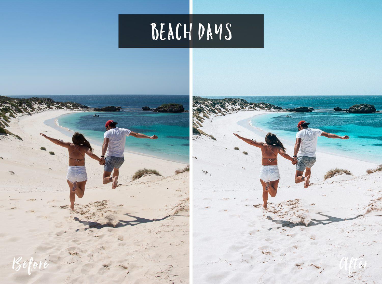 Beach Days | Flip Flop Wanderers Presets