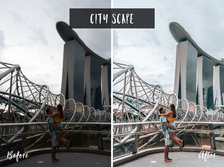 City Scape | Flip Flop Wanderers Presets