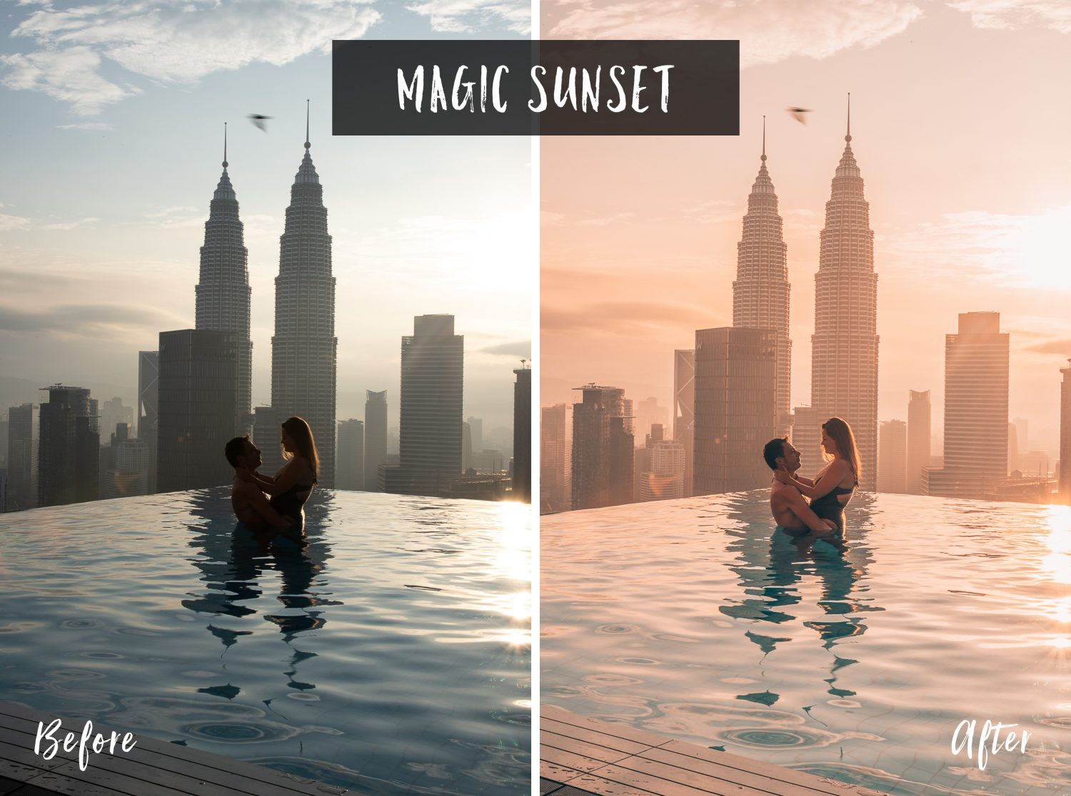 Magic Sunset | Flip Flop Wanderers Presets