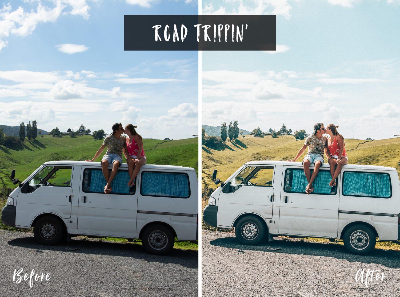Road Trippin' | Flip Flop Wanderers Presets