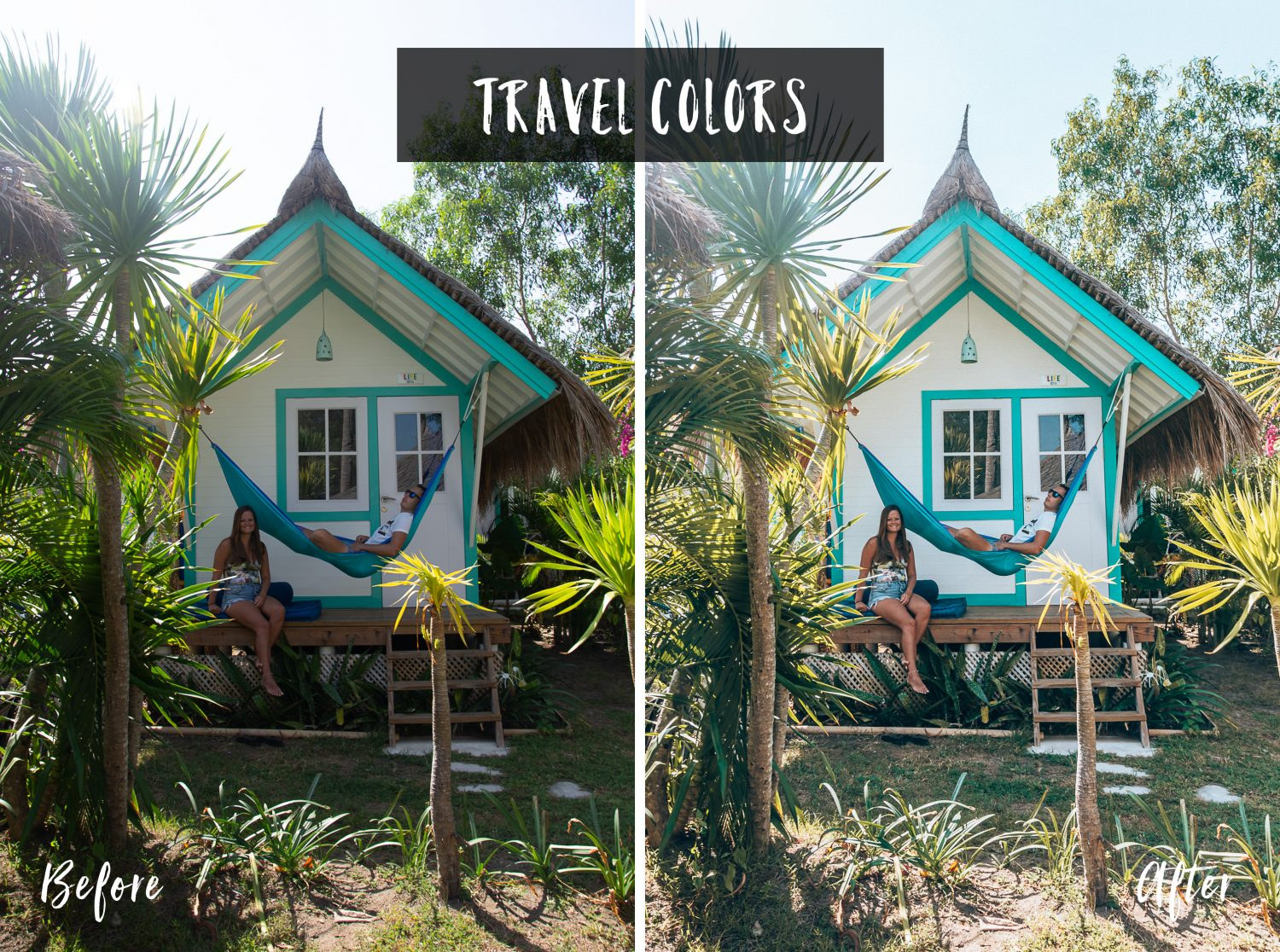 Travel Colors | Flip Flop Wanderers Presets
