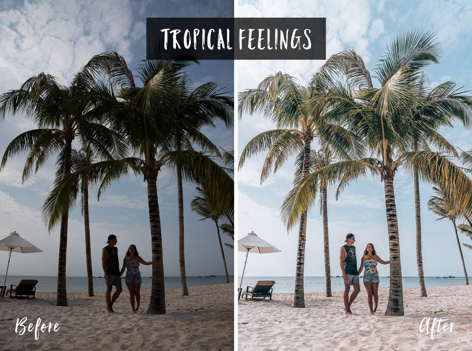 Tropical Feelings | Flip Flop Wanderers Presets