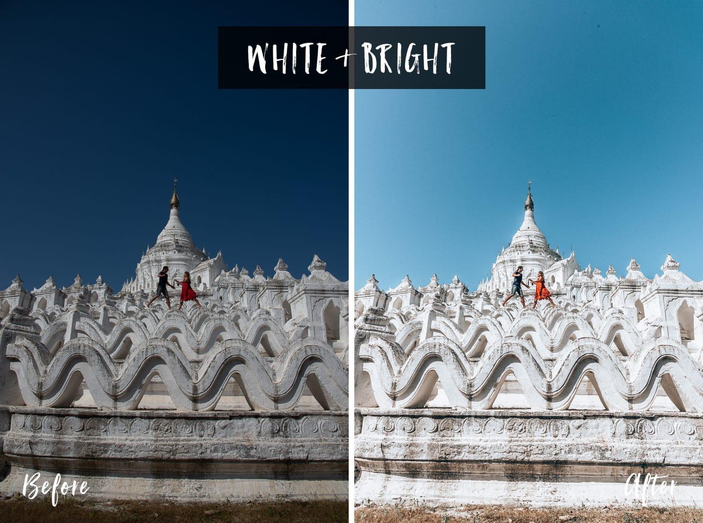 White & Bright | Flip Flop Wanderers Presets