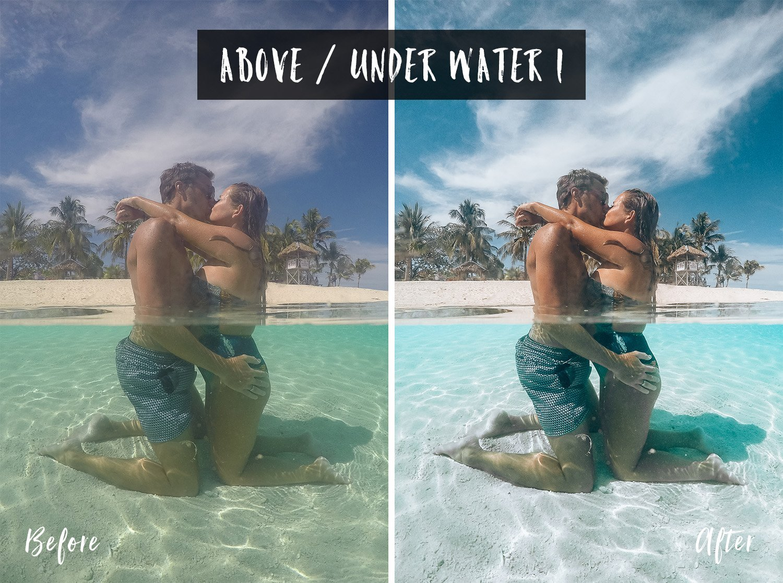 Above / Under Water 1 | Flip Flop Wanderers Presets