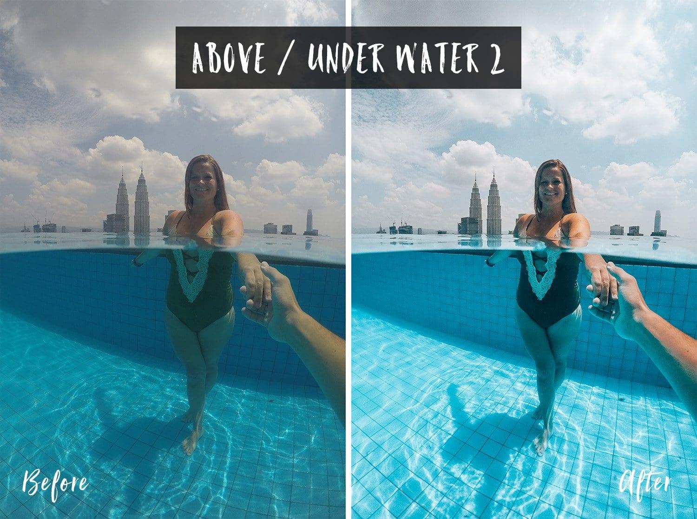 Above / Under Water 2 | Flip Flop Wanderers Presets