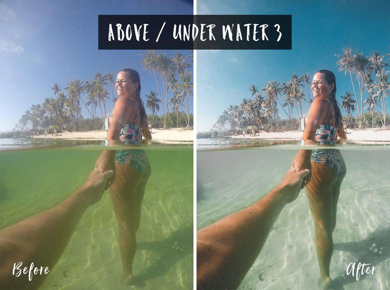 Above / Under Water 3 | Flip Flop Wanderers Presets