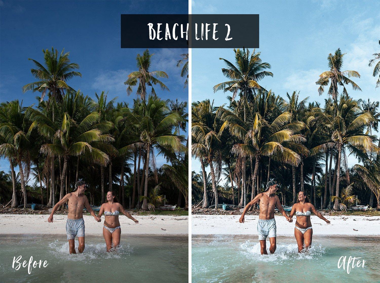 Beach Life 2 | Flip Flop Wanderers Presets