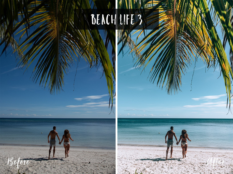 Beach Life 3 | Flip Flop Wanderers Presets