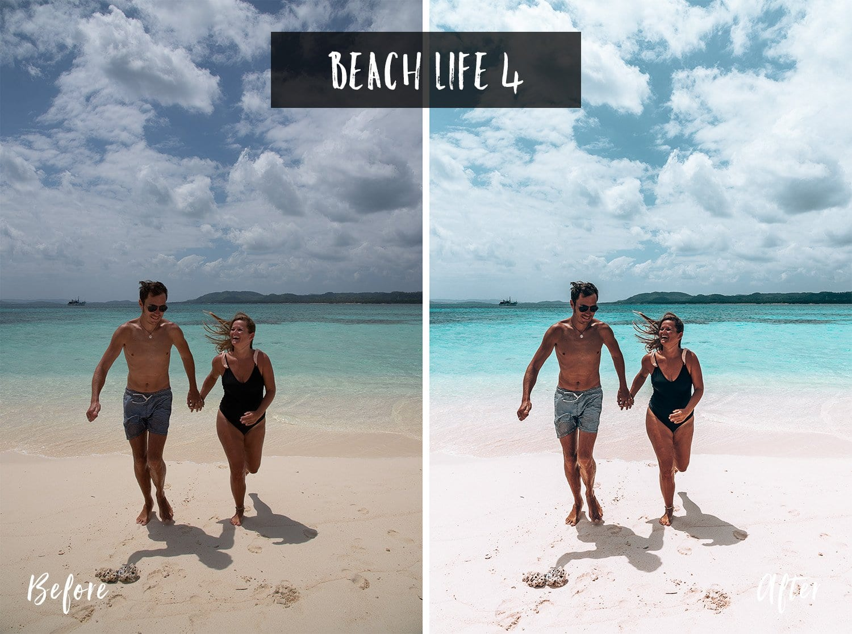 Beach Life 4 | Flip Flop Wanderers Presets