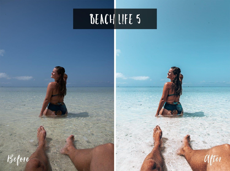 Beach Life 5 | Flip Flop Wanderers Presets