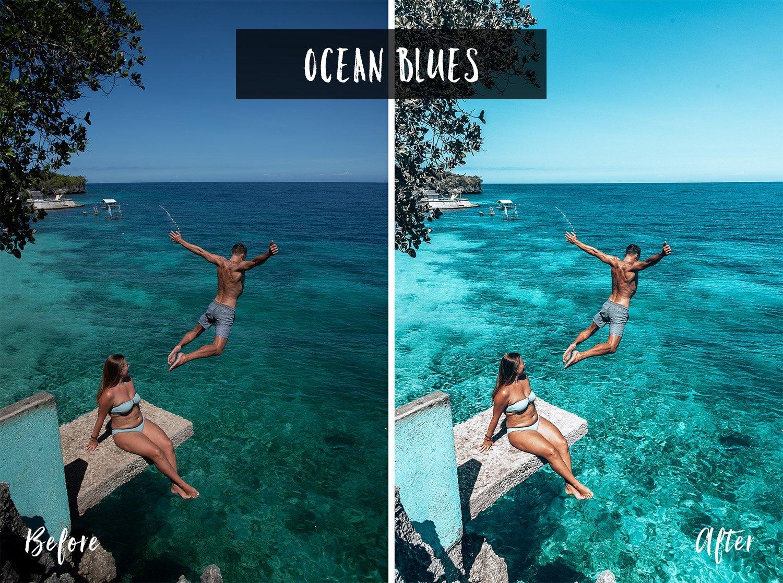 Ocean Blues | Flip Flop Wanderers Presets