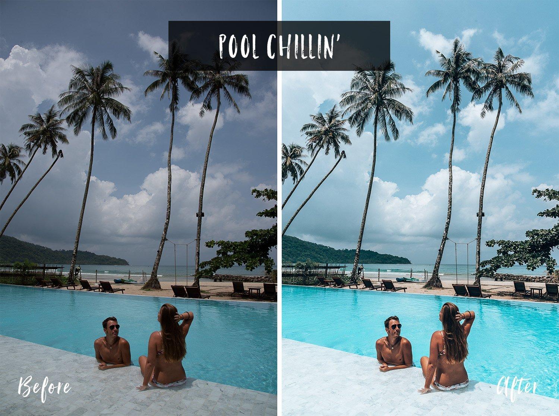 Pool Chillin' | Flip Flop Wanderers Presets