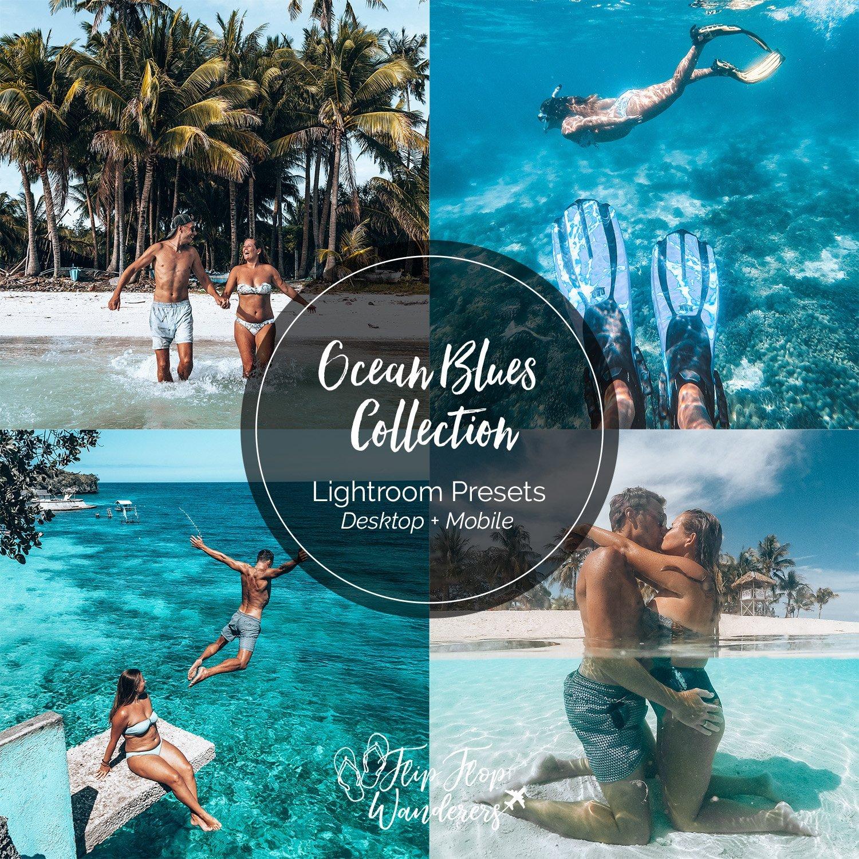 Ocean Blues Preset Collection | Flip Flop Wanderers