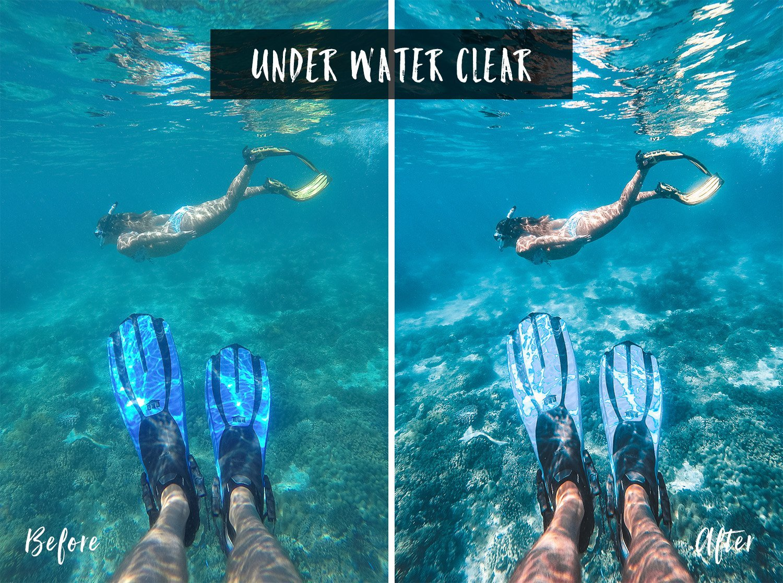 Under Water Clear | Flip Flop Wanderers Presets