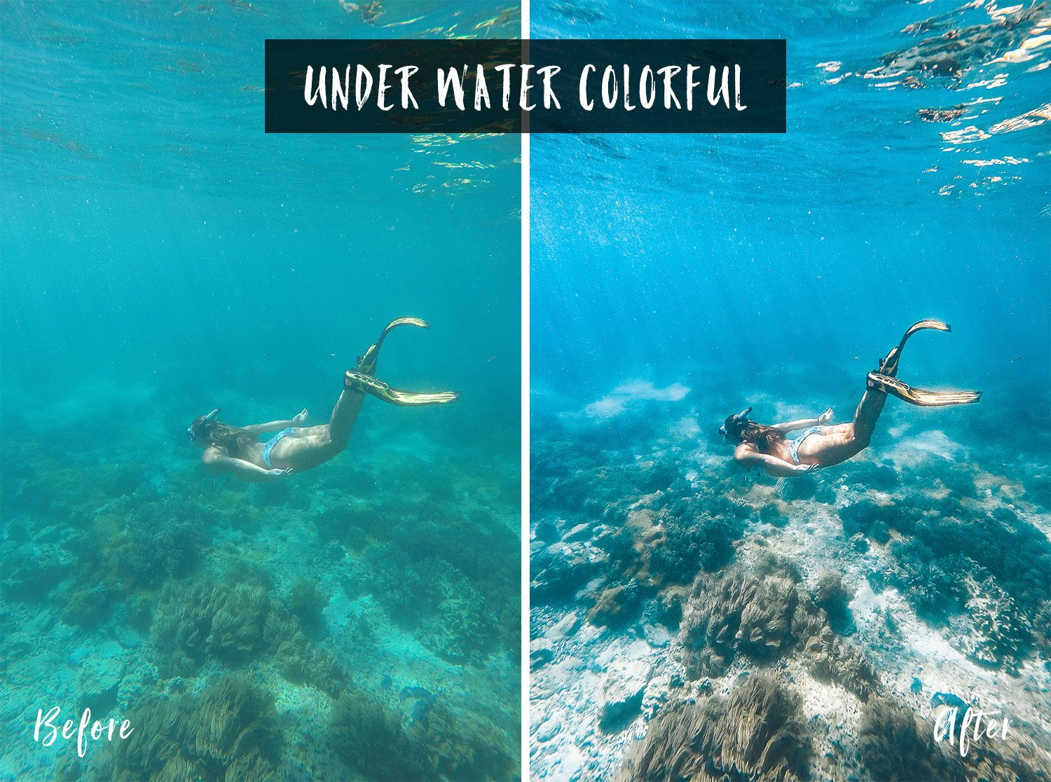 Under Water Colorful | Flip Flop Wanderers Presets