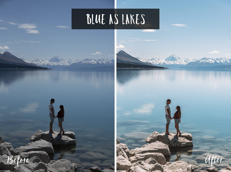Blue As Lakes | Flip Flop Wanderers Presets