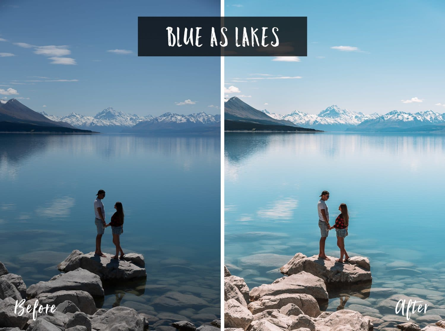 Blue As Lakes | Flip Flop Wanderers Presets