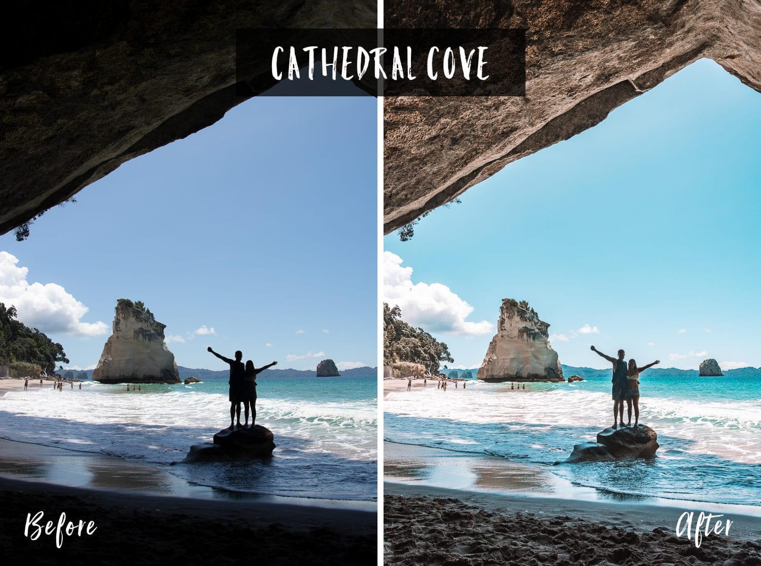 Cathedral Cove | Flip Flop Wanderers Presets