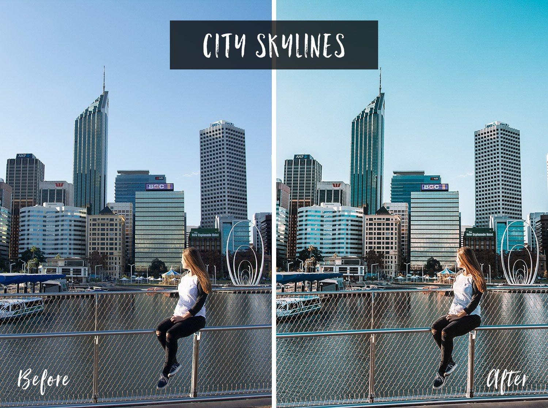 City Skyline | Flip Flop Wanderers Presets