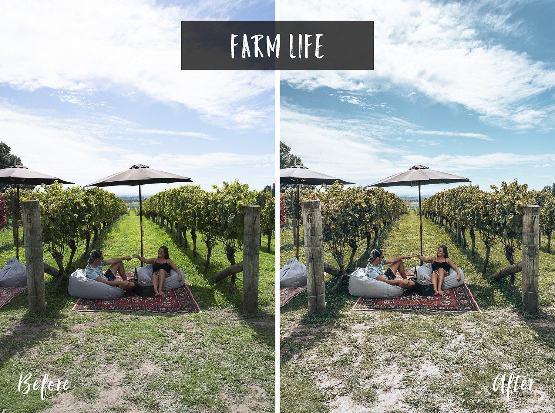 Farm Life | Flip Flop Wanderers Presets