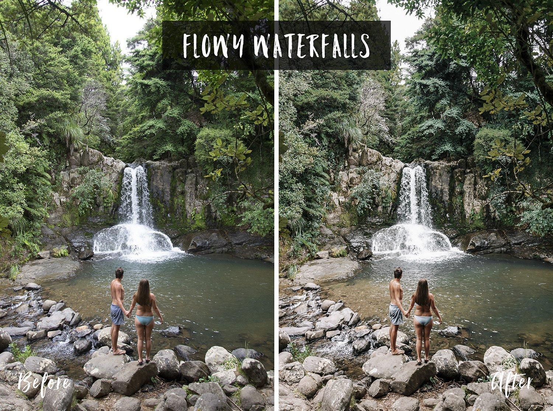 Flowy Waterfalls | Flip Flop Wanderers Presets