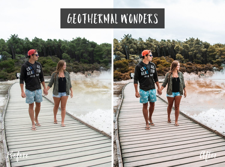 Geothermal Wonders | Flip Flop Wanderers Presets