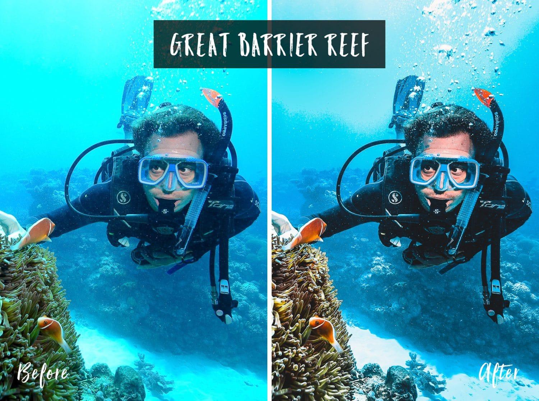 Great Barrier Reef   Flip Flop Wanderers Presets