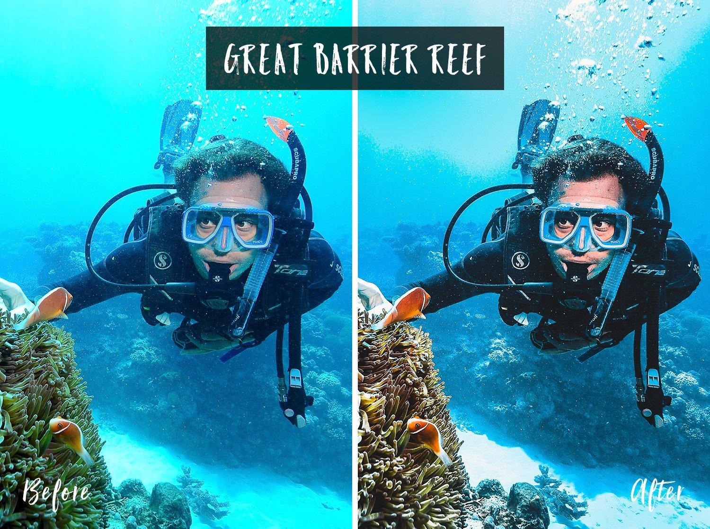 Great Barrier Reef | Flip Flop Wanderers Presets