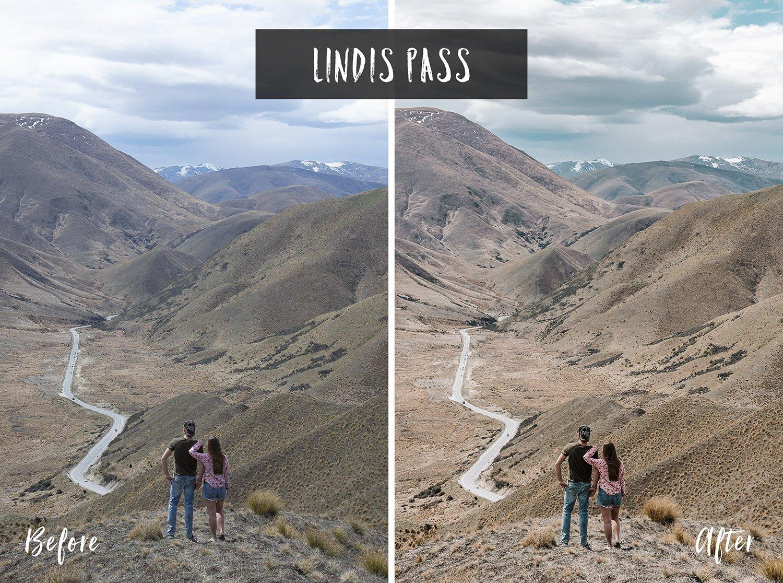 Lindis Pass | Flip Flop Wanderers Presets