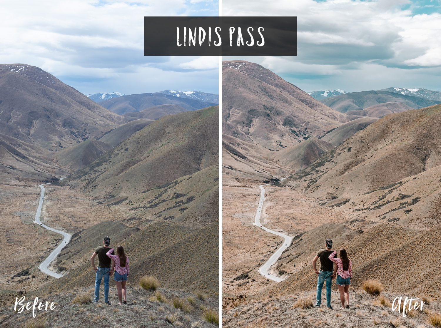 Lindis Pass | Flip Flop Wanderers Presets