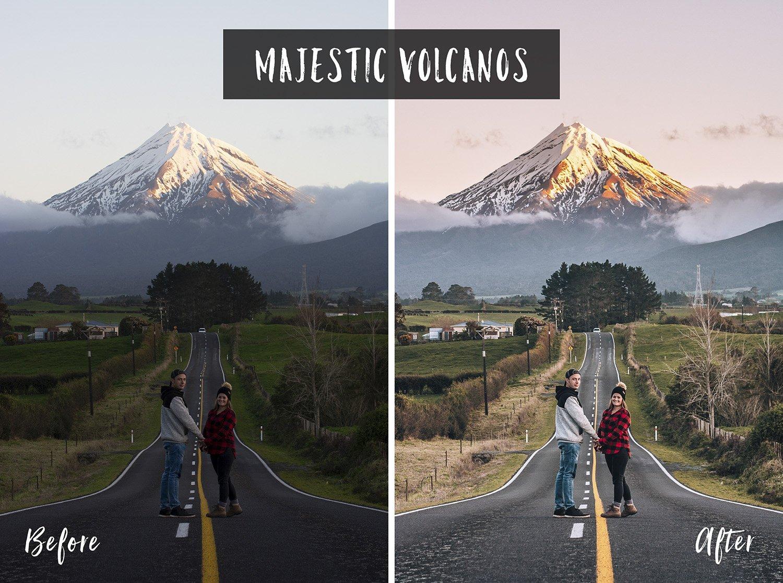Majestic Volcanos | Flip Flop Wanderers Presets