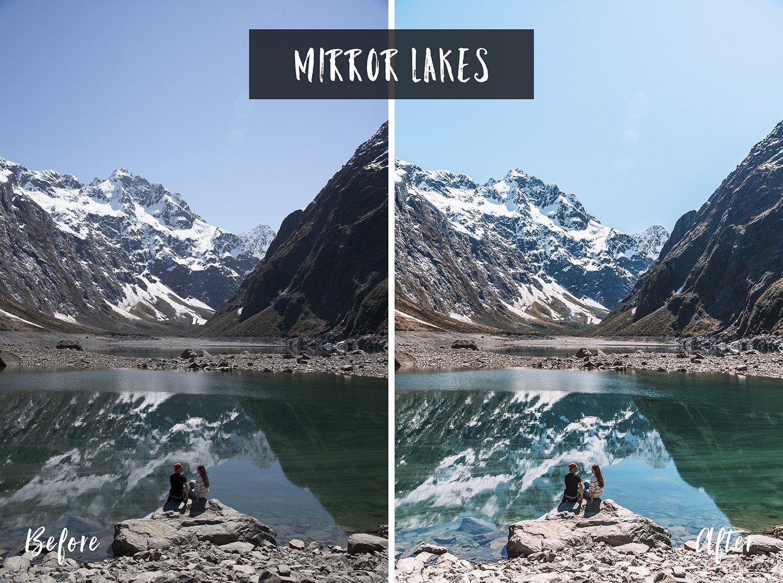 Mirror Lakes | Flip Flop Wanderers Presets