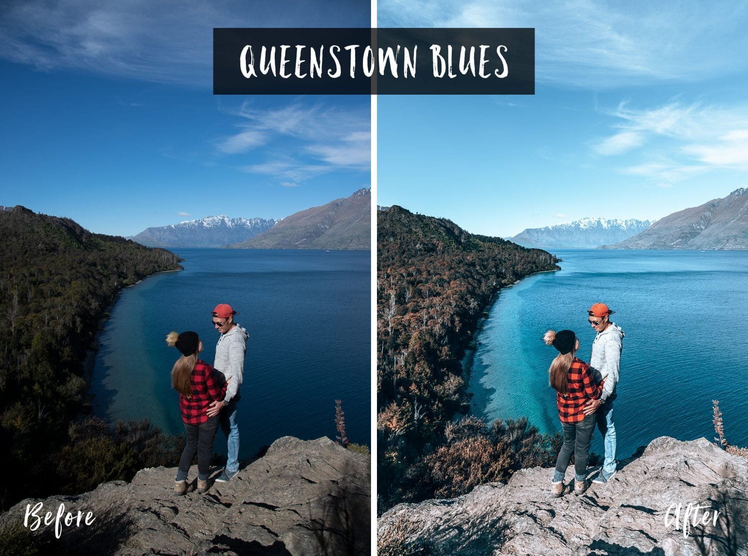 Queenstown Blues | Flip Flop Wanderers Presets