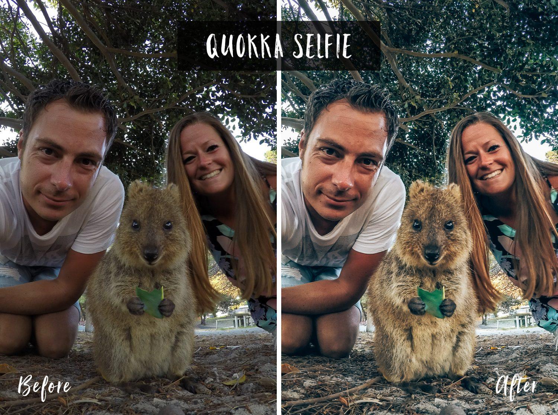 Quokka Selfie | Flip Flop Wanderers Presets