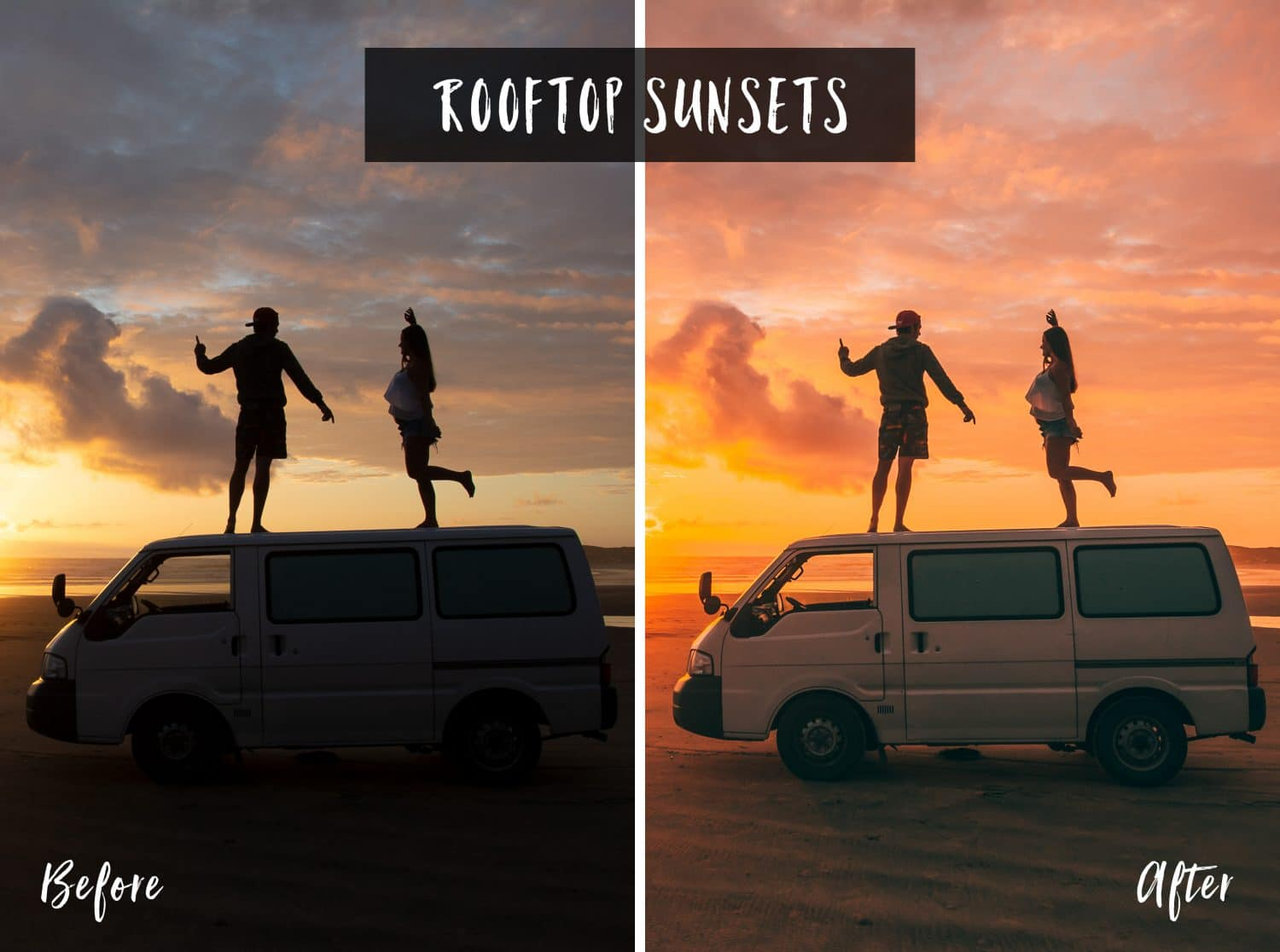Rooftop Sunsets | Flip Flop Wanderers Presets
