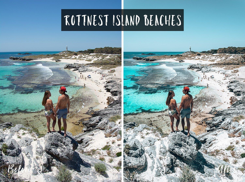 Rottnest Island Beaches | Flip Flop Wanderers Presets