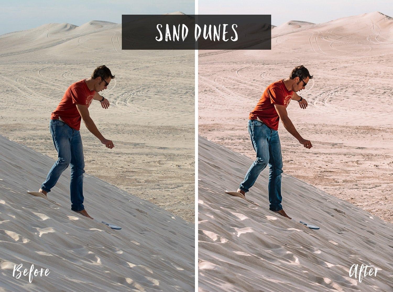 Sand Dunes | Flip Flop Wanderers Presets