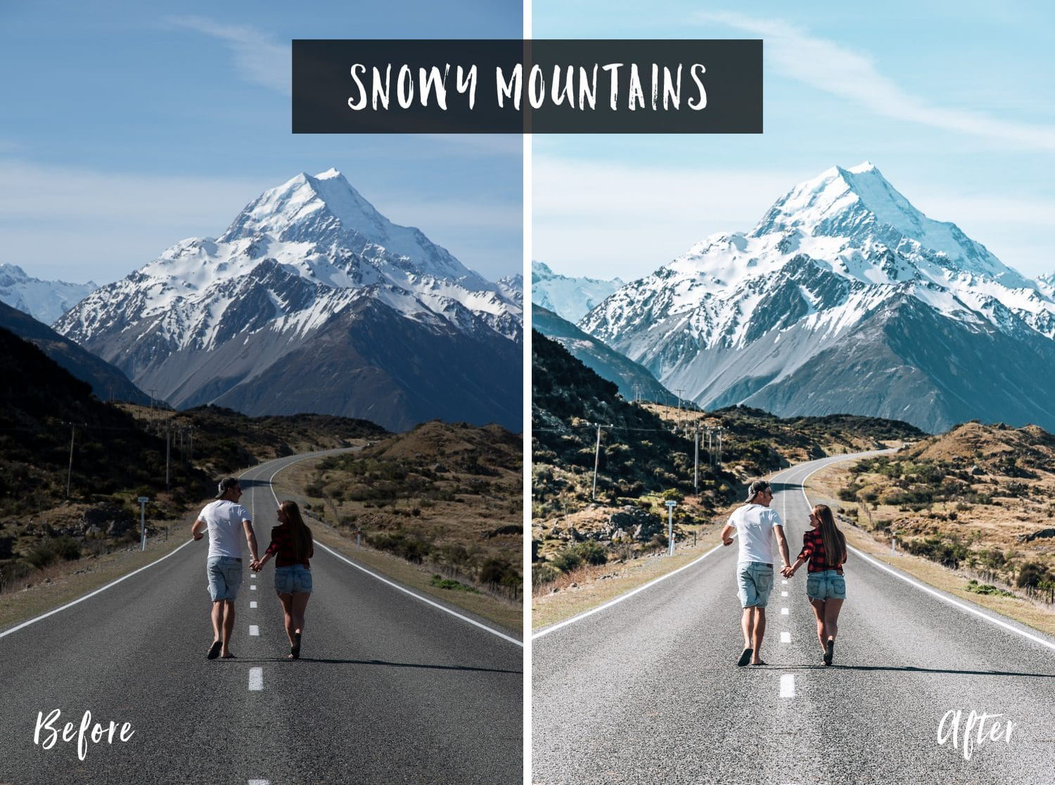 Snowy Mountains | Flip Flop Wanderers Presets