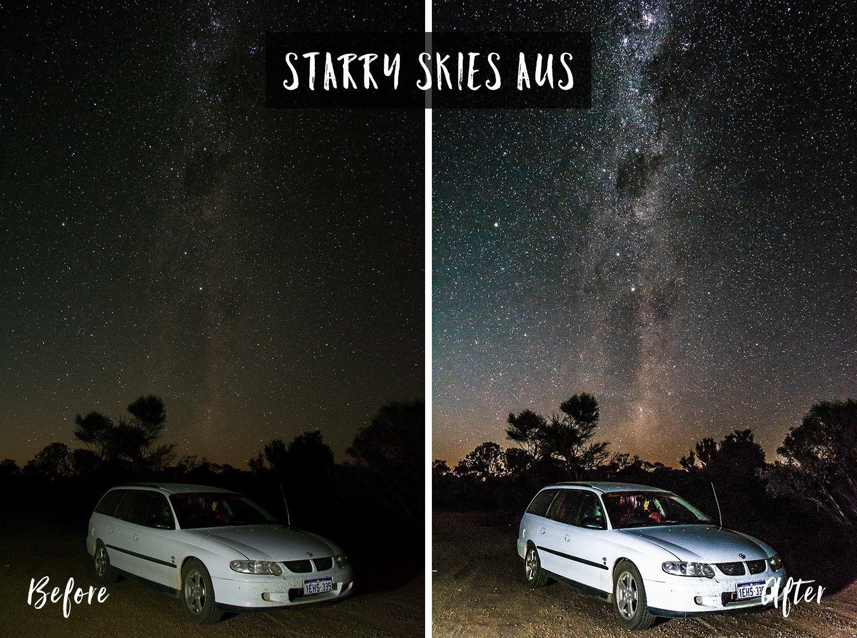Starry Skies AUS   Flip Flop Wanderers Presets