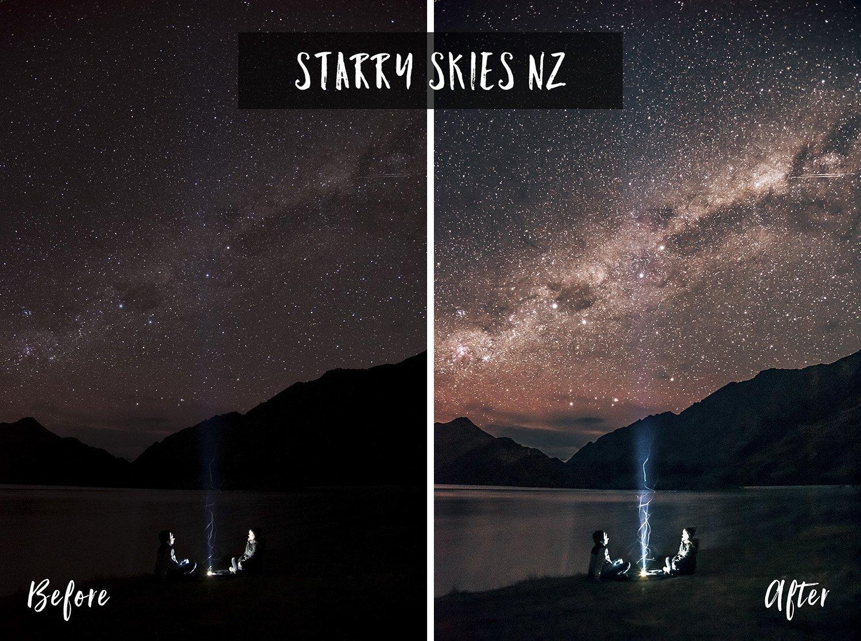 Starry Skies NZ | Flip Flop Wanderers Presets