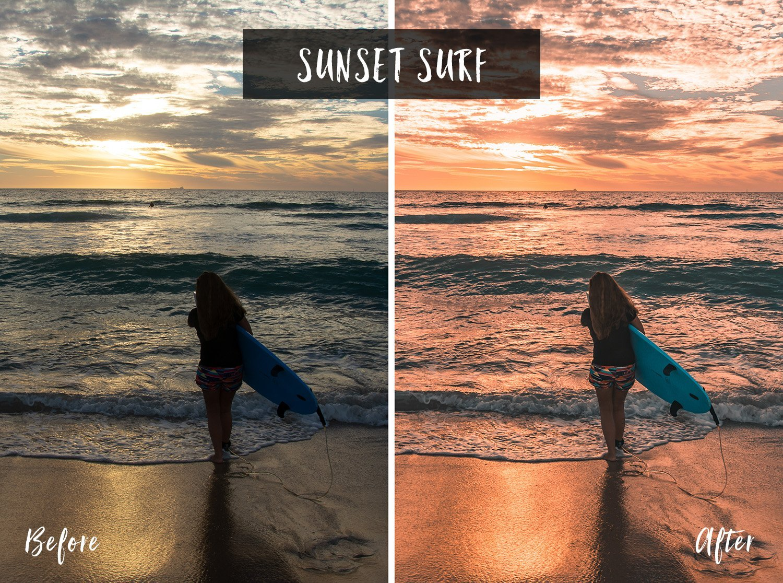 Sunset Surf | Flip Flop Wanderers Presets