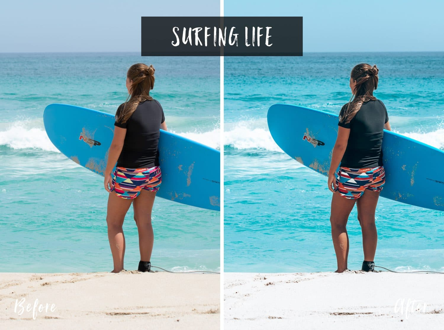 Surfing Life | Flip Flop Wanderers Presets