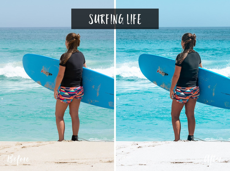 Surfing Life | Flip Flop Wanderers Presets