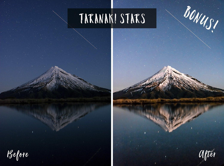 Taranaki Stars   Flip Flop Wanderers Presets