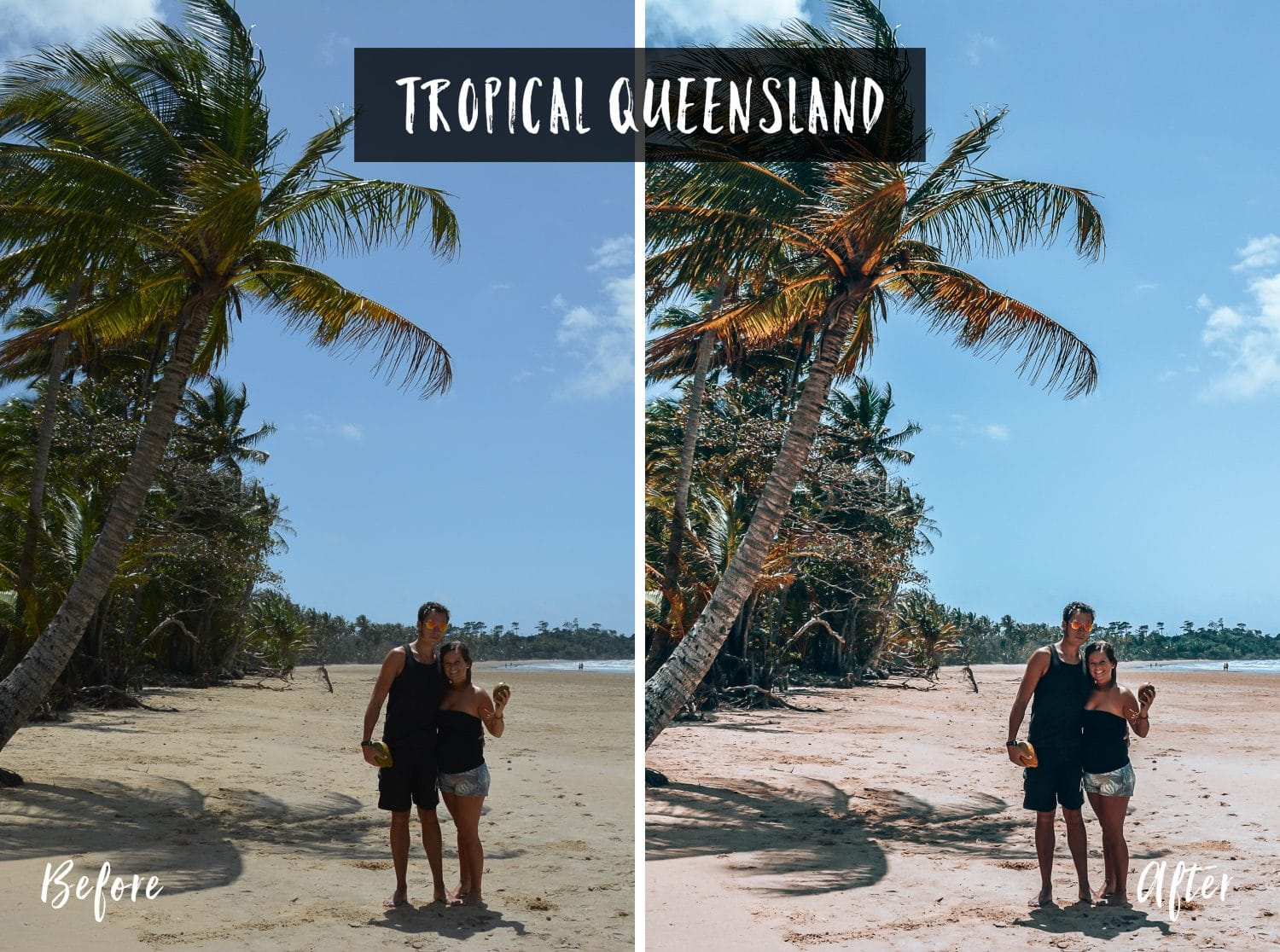Tropical Queensland | Flip Flop Wanderers Presets