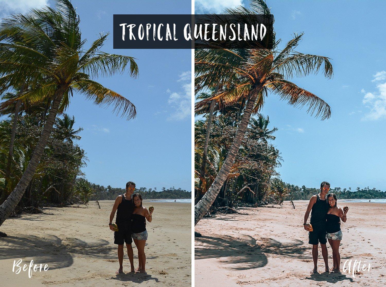 Tropical Queensland | Flip Flop Wanderers Presets