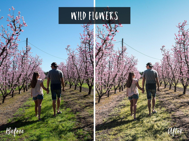 Wild Flowers | Flip Flop Wanderers Presets